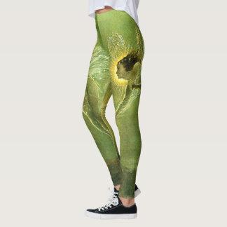 Green Spirit Of The Night Fairy Leggings