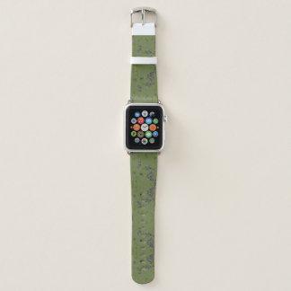 Green Splash of Camo Apple Watch Band
