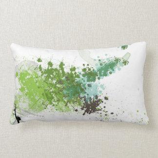 Green Splash Pillow