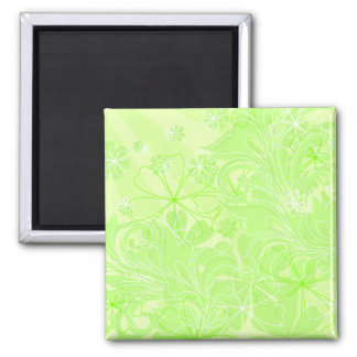 green spring1 square magnet