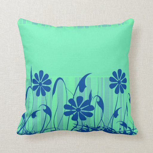 green spring American MoJo Pillow