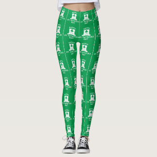 Green St. Patrick's Day Leggings