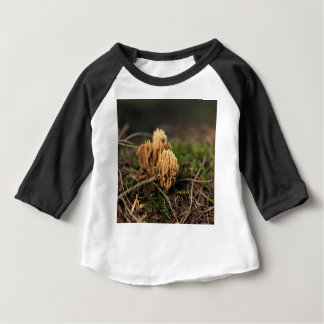 Green staining coral fungi (Ramaria abietina) Baby T-Shirt
