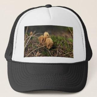 Green staining coral fungi (Ramaria abietina) Trucker Hat