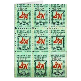 Green Stamps Nostalgia Card
