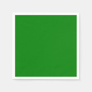 Green Standard Cocktail Paper Napkin