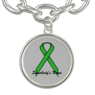 Green Standard Ribbon by Kenneth Yoncich
