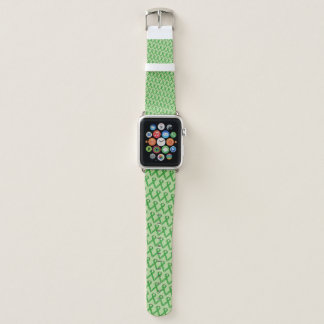 Green Standard Ribbon by Kenneth Yoncich Apple Watch Band
