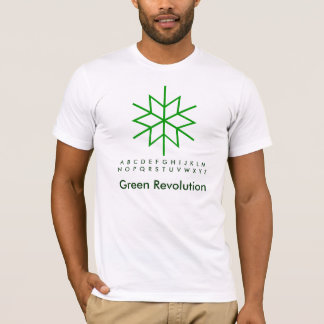 Green Star : SnowFlakes T-Shirt