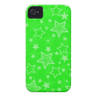 Green Stars BlackBerry Bold Case