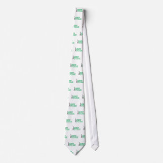 green statue of liberty art tie