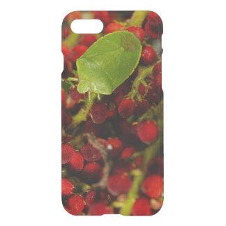 Green Stink Bug on Sumac iPhone 7 Case