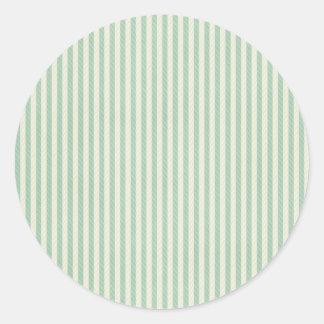 green stitched stripe stickers