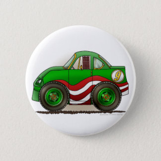 Green Stock Car Pins
