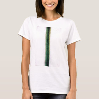 Green Stripe (Color Painting) by Olga Rozanova T-Shirt