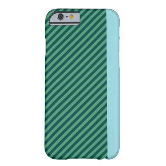 Green Stripe Patterned iPhone Case