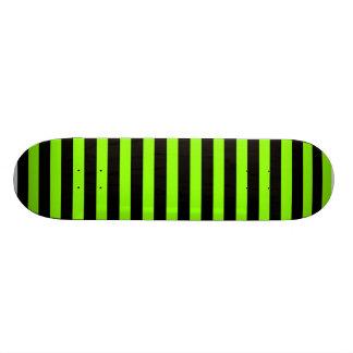Green Stripe Skateboard