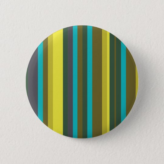 Green_stripes 6 Cm Round Badge