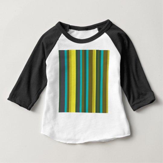 Green_stripes Baby T-Shirt
