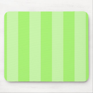 Green Stripes Background Template Colorful Mouse Pad