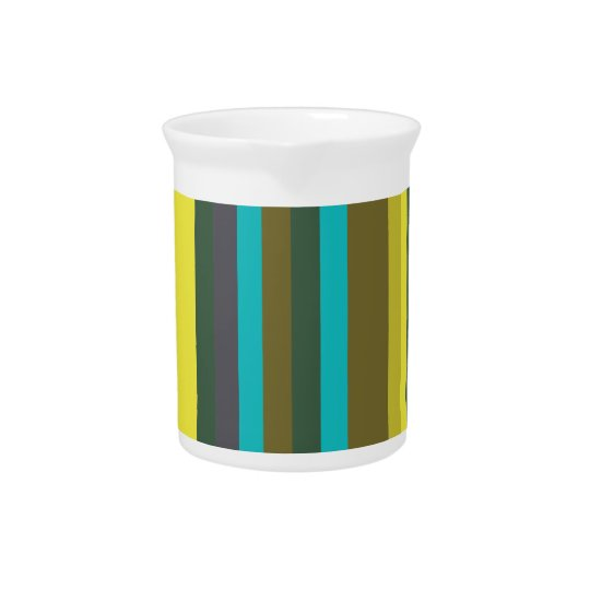 Green_stripes Beverage Pitchers