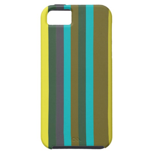 Green_stripes Case For The iPhone 5