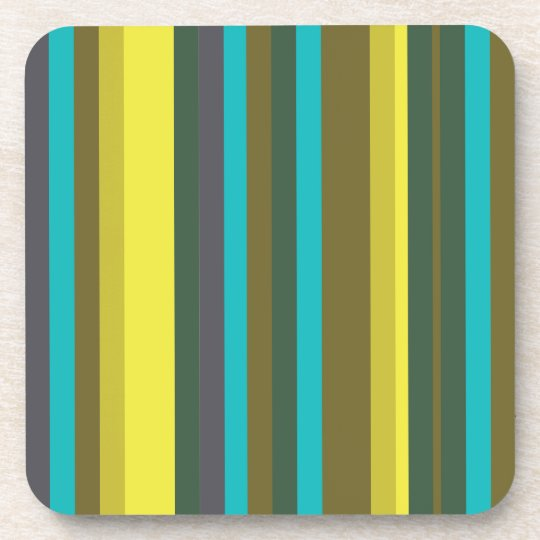 Green_stripes Coaster