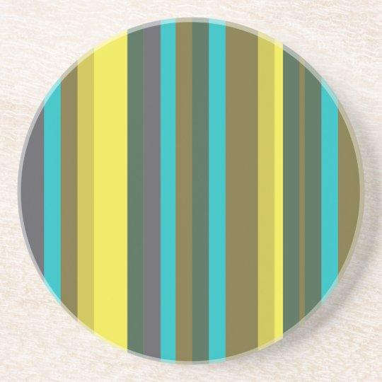 Green_stripes Coasters