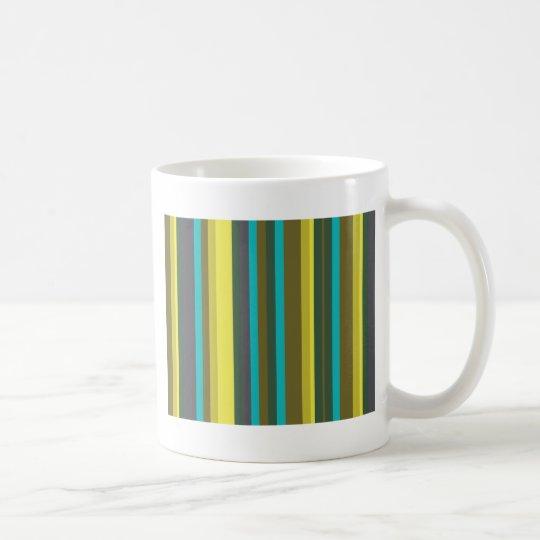Green_stripes Coffee Mug