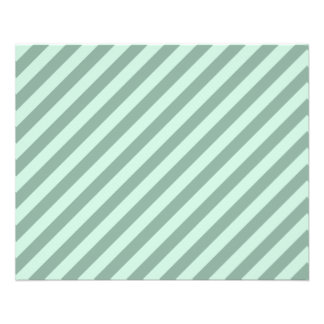 Green Stripes. Flyers