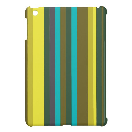 Green_stripes iPad Mini Covers