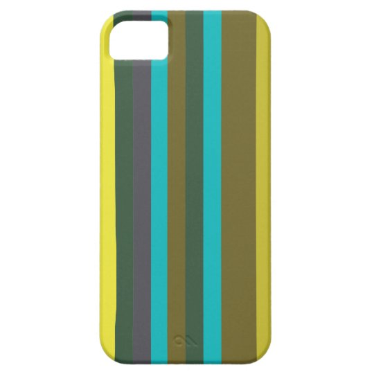 Green_stripes iPhone 5 Covers