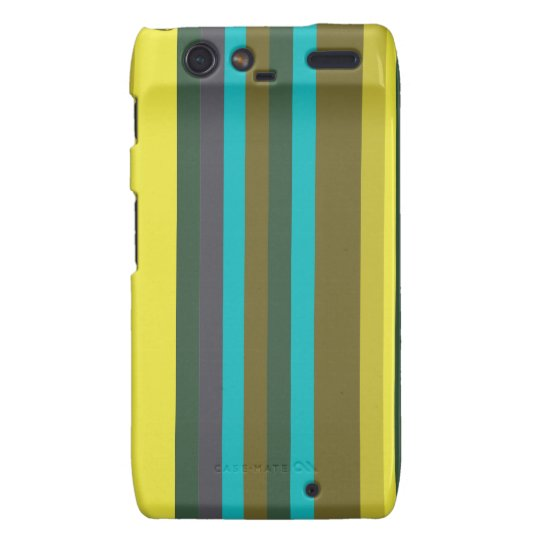 Green_stripes Motorola Droid RAZR Cases