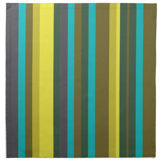 Green_stripes Napkin