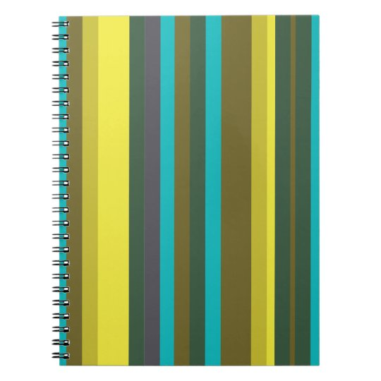 Green_stripes Notebook