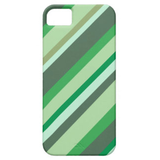 Green stripes phone case