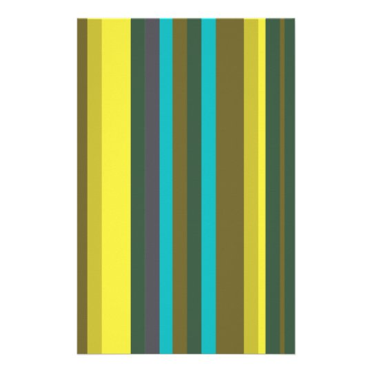 Green_stripes Stationery