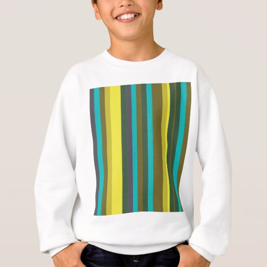 Green_stripes Sweatshirt