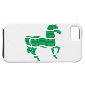 Green stripped Thoroughbred iPhone 5 Cases