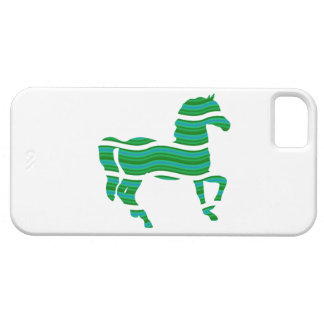 Green stripped Thoroughbred iPhone 5 Cover