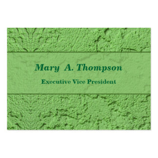Green Stucco Texture Pack Of Chubby Business Cards