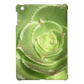 Green succulent case for the iPad mini