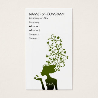 green sugar business card