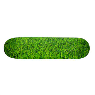 Green Summer Grass Texture 19.7 Cm Skateboard Deck