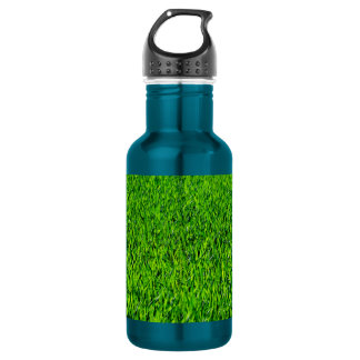 Green Summer Grass Texture 532 Ml Water Bottle