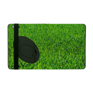 Green Summer Grass Texture iPad Cover