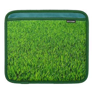 Green Summer Grass Texture iPad Sleeve