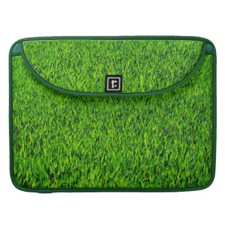 Green Summer Grass Texture Sleeve For MacBooks