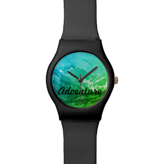 Green Summer Mountains Watch