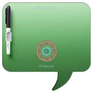 Green Sun Dry Erase Board